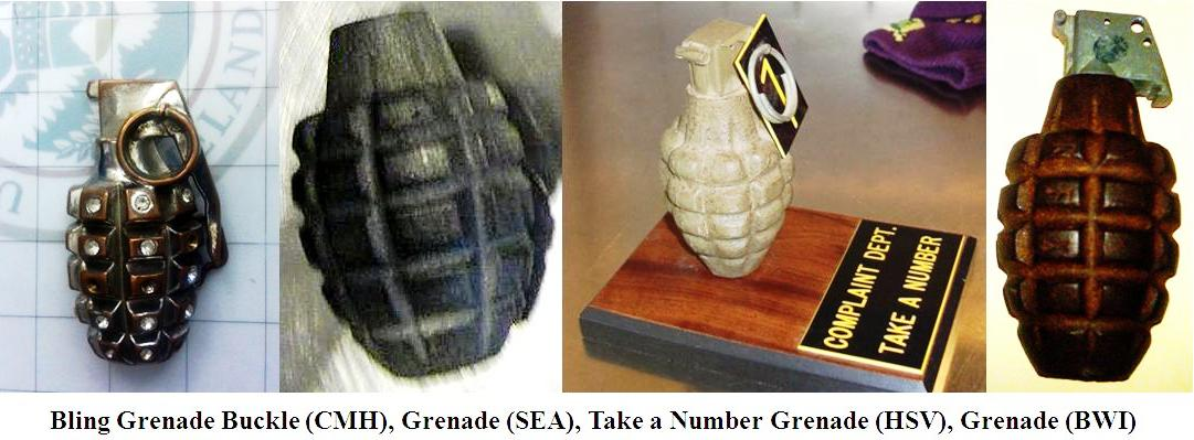 Discoveries truth and hand grenade