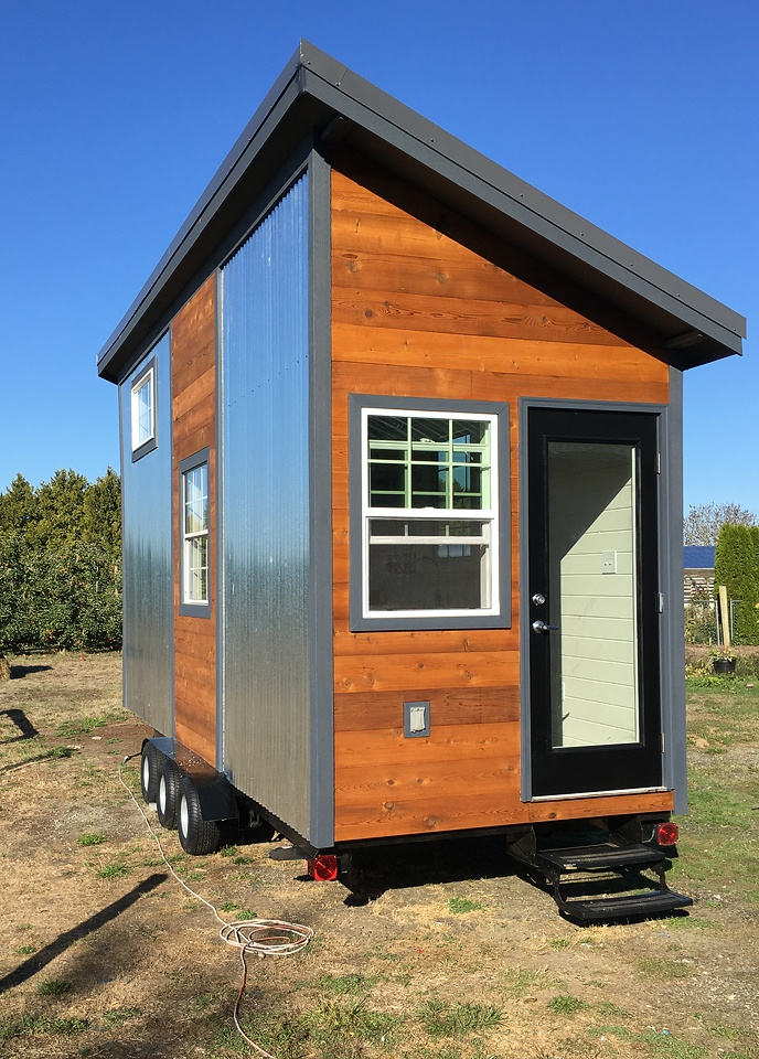 TINY HOUSE TOWN: Modern Rustic Tiny Home in Bellingham