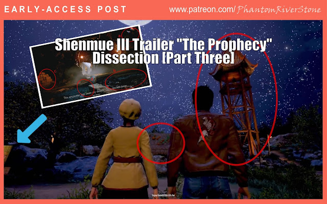 """[Early-Access Post] Shenmue III Trailer """"The Prophecy"""" Dissection [Part Three]"""