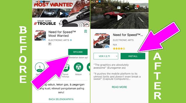 Cara Download Aplikasi Berbayar Jadi Gratis di Play Store Tanpa Root