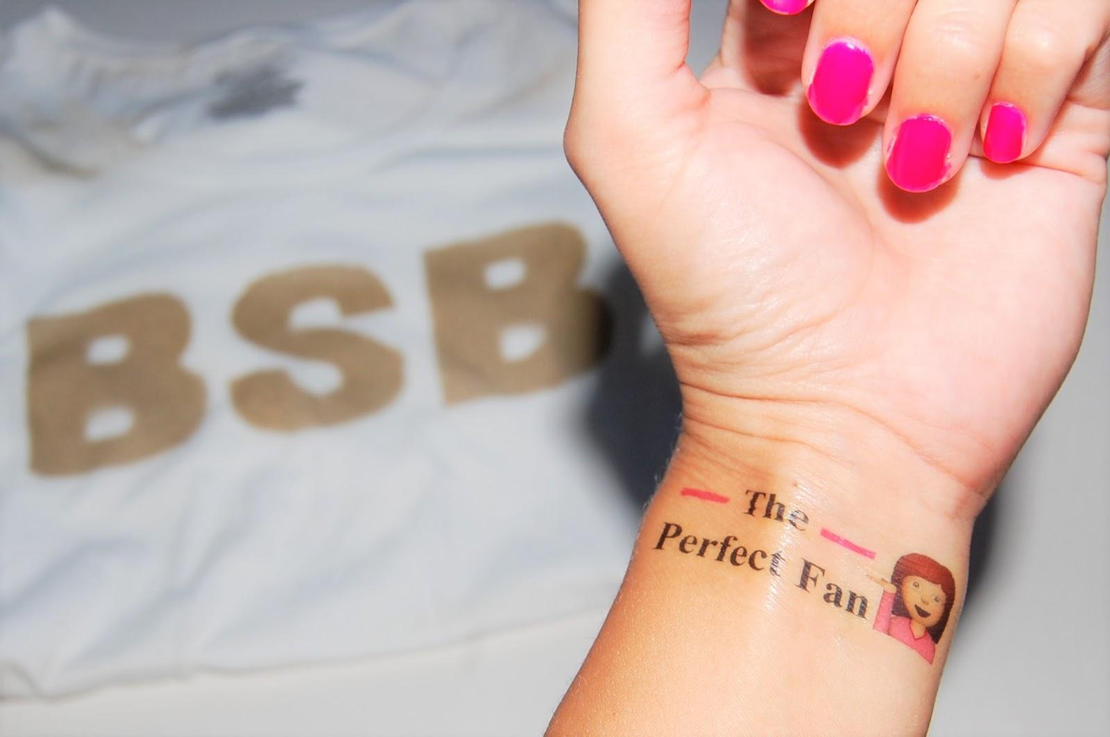 DIY BSB Temporary Tattoos | KPApreps