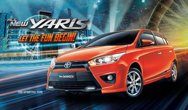 Spesifikasi Harga Kredit & Cicilan Toyota Yaris Surabaya
