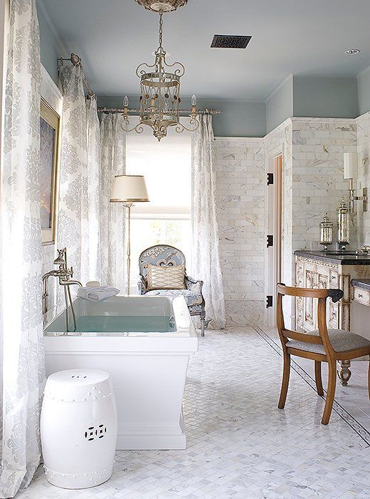 Chinoiserie Chic The Master Bath