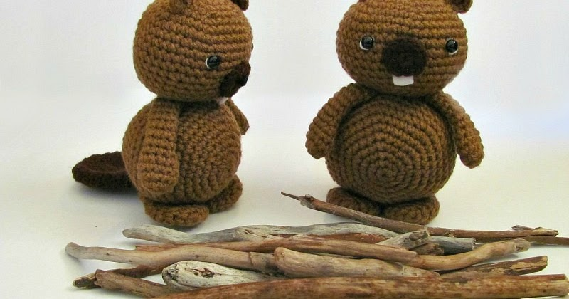 Amigurumi To Go Tutorial : Amigurumi beaver free tutorial to go