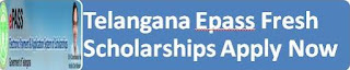 Telangana EPASS Fresh Application 2015-16