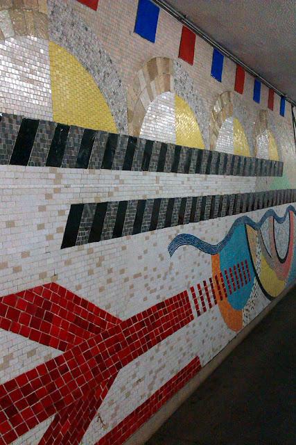 Southampton railway mosaic