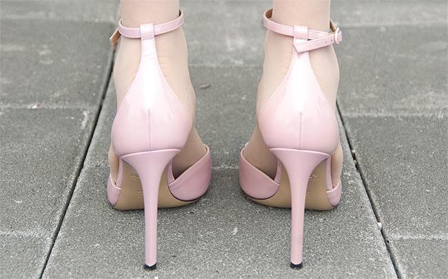 Bally, high heels, pink
