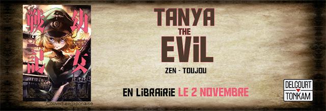 Yôjo Senki : Saga of Tanya the Evil, Manga, Actu Manga, Chika Tôjô, Carlos Zen, Delcourt / Tonkam,
