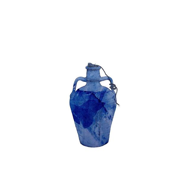 azulejo, ceramica azul,cantaro