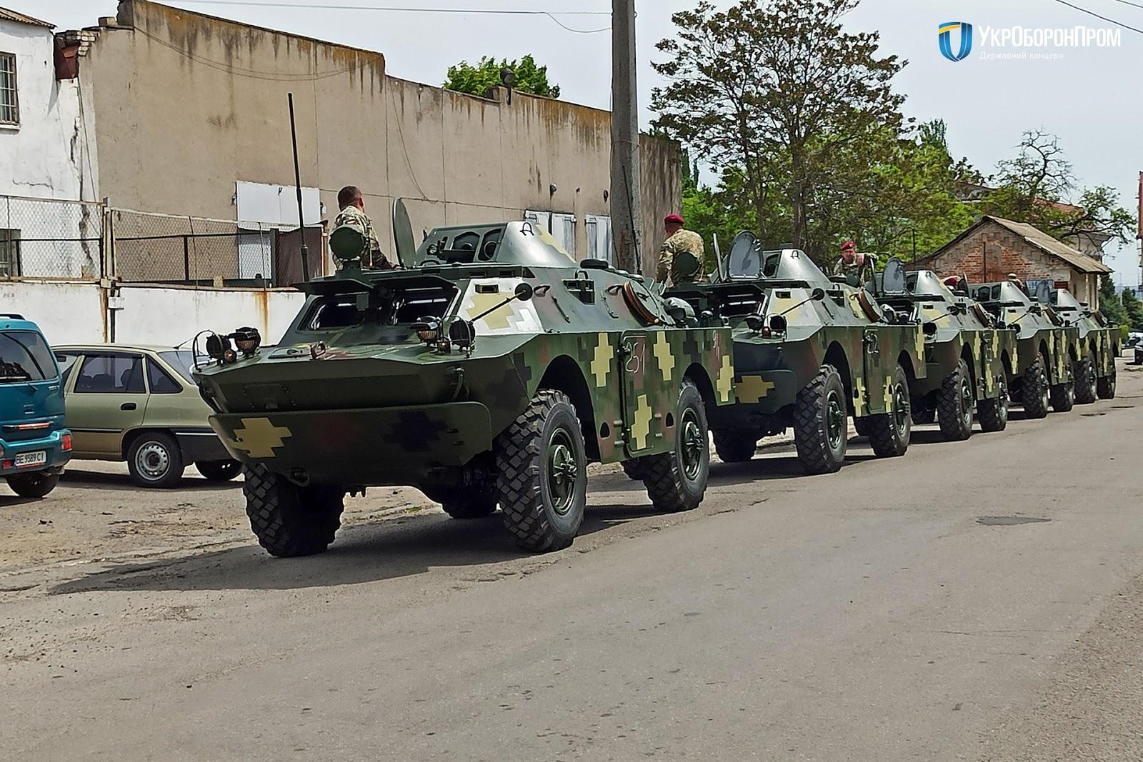 Президентський полк отримав партію модернізованих БРДМ