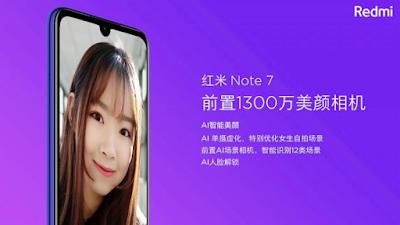 kamera selfie review redmi note 7