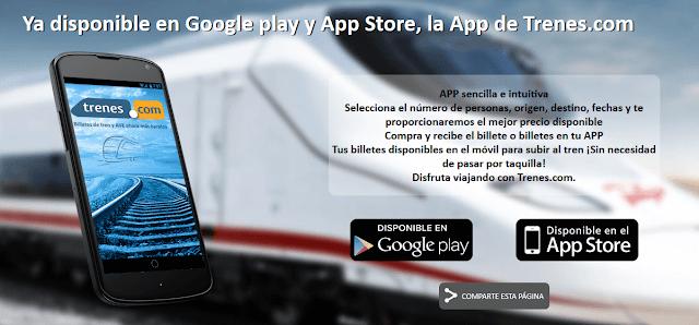 Descarga la app de Trenes.com