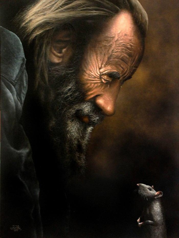 Живопись маслом и акрилом. Ivan Pili