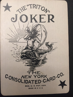 New York Consolidate Card Co Joker