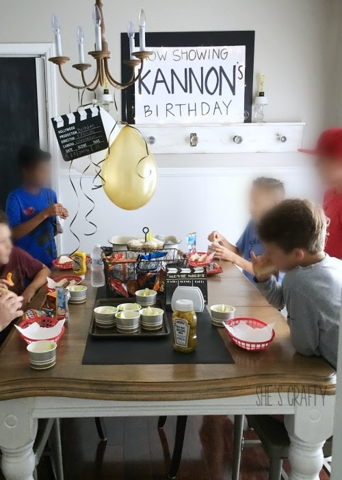 11th birthday party for boys, easy birthday party