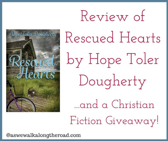 Review of Rescued Hearts Christian fiction