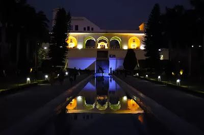 Illumination at Yadavindra gardens