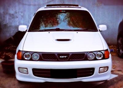 Eksterior Toyota Starlet Kapsul GT Turbo