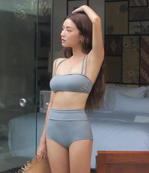 Double Strap Top Bikini