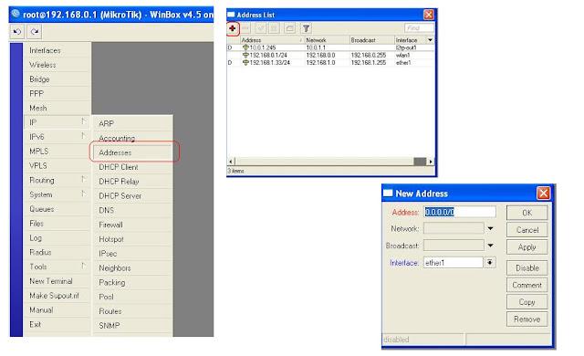Membangun Router dengan Mikrotik (Basic)