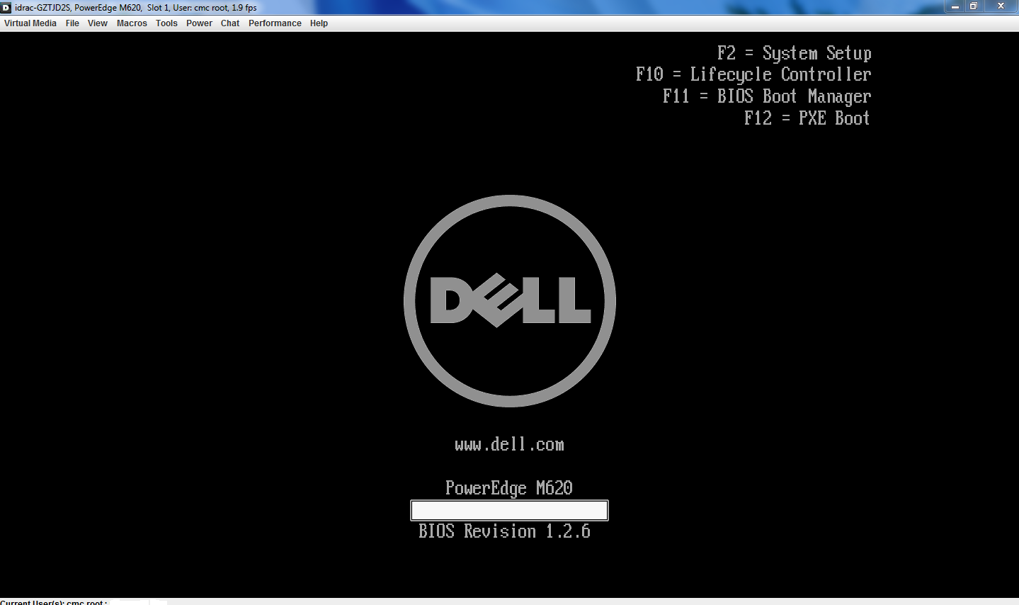 Dell question) R230 setting first boot device : sysadmin