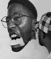 Green Pear Diaries, arte, dibujo, ilustración, hiperrealismo, Arinze Stanley
