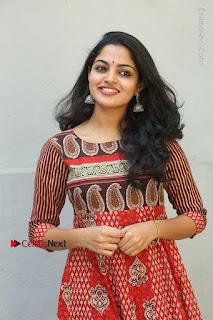 Telugu Actress Nikhila Vimal Latest Stills in Anarkali Dress  0024.JPG