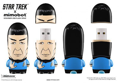 Star Trek Mimobot USB Flashdrives Wave 1 by Mimoco - Spock