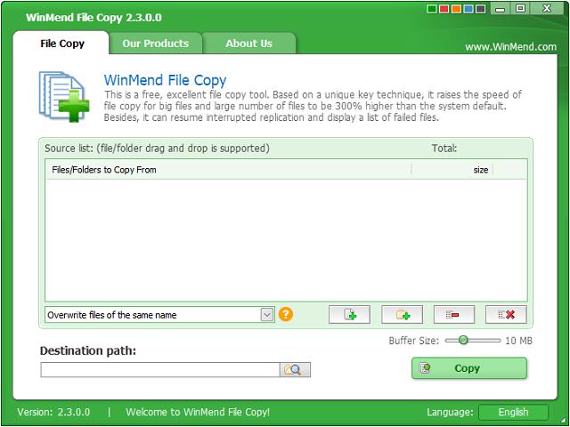 تحميل أفضل برنامج لنسخ الملفات بسرعة عالية WinMend File Copy 2018 للويندوز آخر إصدار