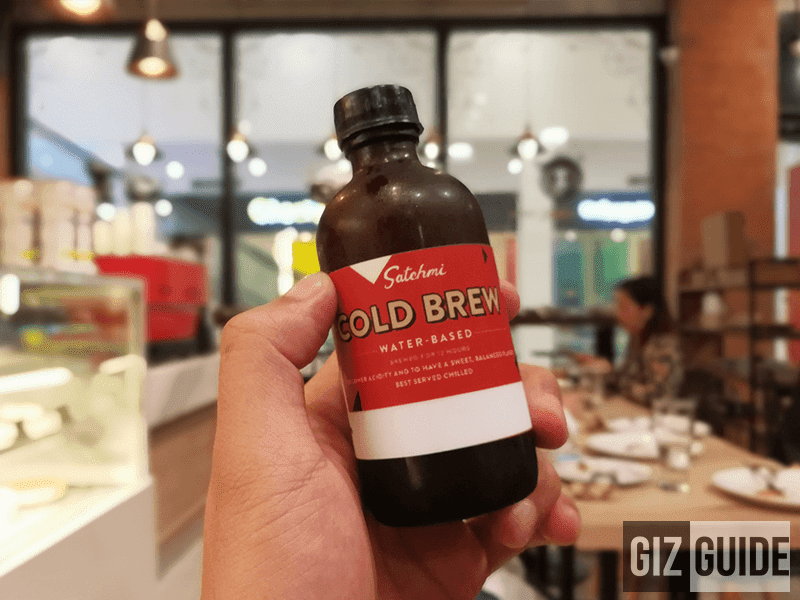 Satchmi Cold Brew coffee!