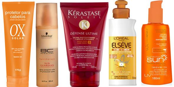 cuidados com cabelo, verão, dicas de produtos