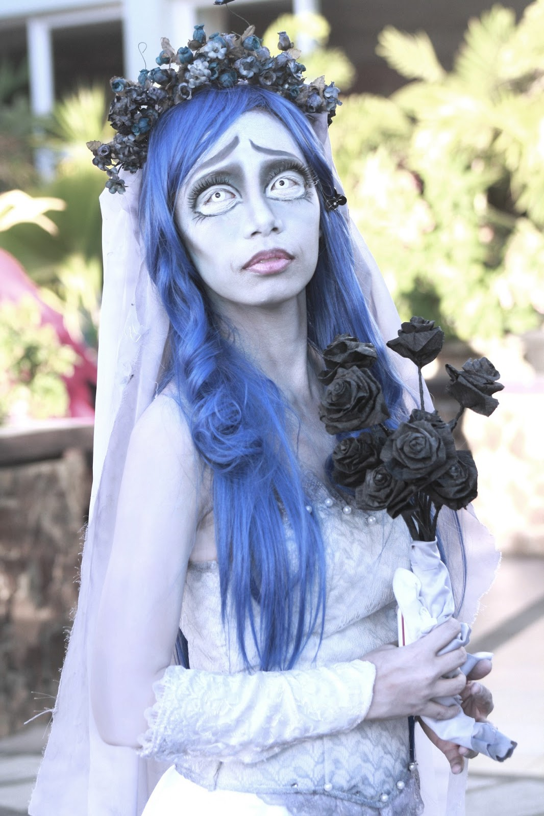 Corpse Bride Halloween Costume Diy.Oishari Diy Corpse Bride Cosplay