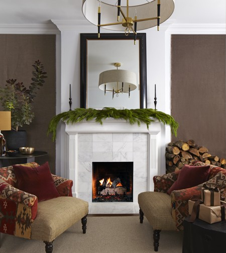 Winter Living Room Decorating: Interior Design: December 2012
