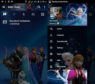 BBM Mod Frozen