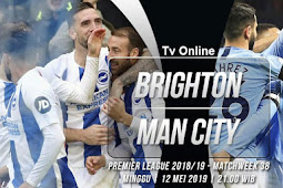 Live Streaming Liga Inggris Brighton vs Manchester City 12 Mei 2019