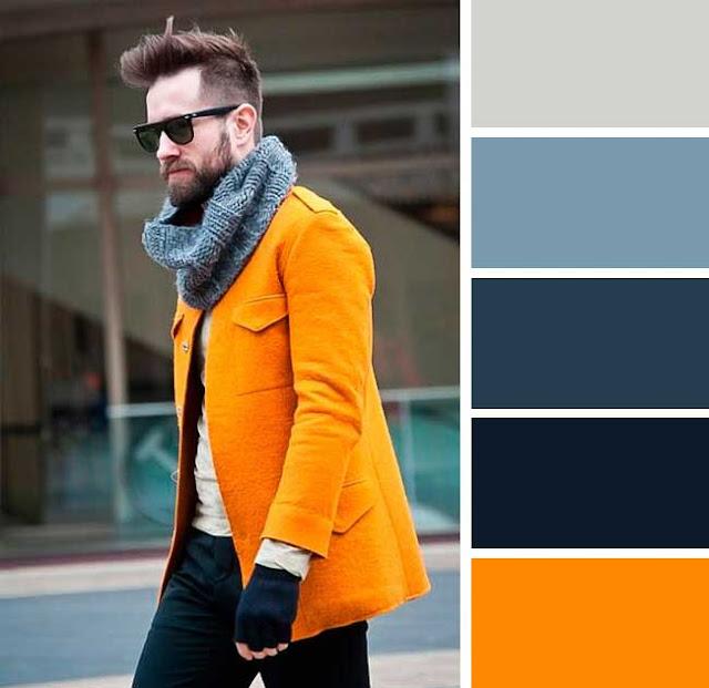 Dış giyim için sıra dışı ama çarpıcı bir renk kombini