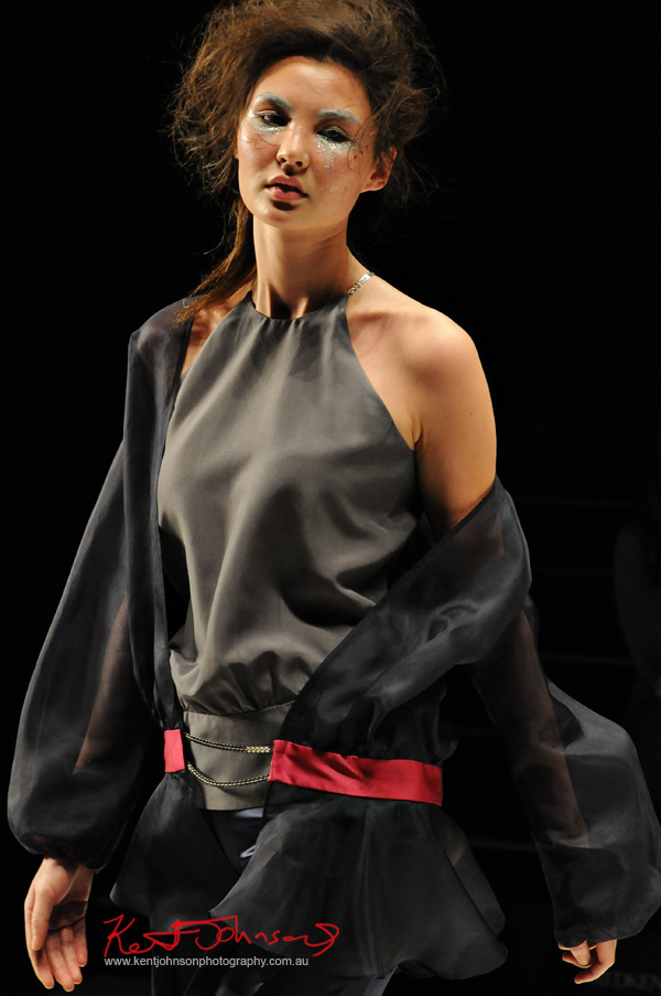 Gemma Saccasan - Raffles International Showcase. Photos by Kent Johnson for Street Fashion Sydney.