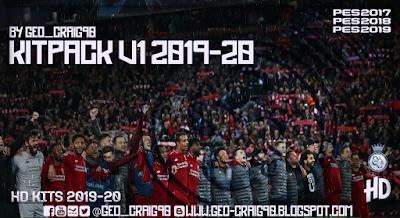 PES 2019 Kitpack Season 2019-20 HD By Geo_Craig90
