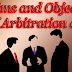 Aims and Objects of Arbitration Act