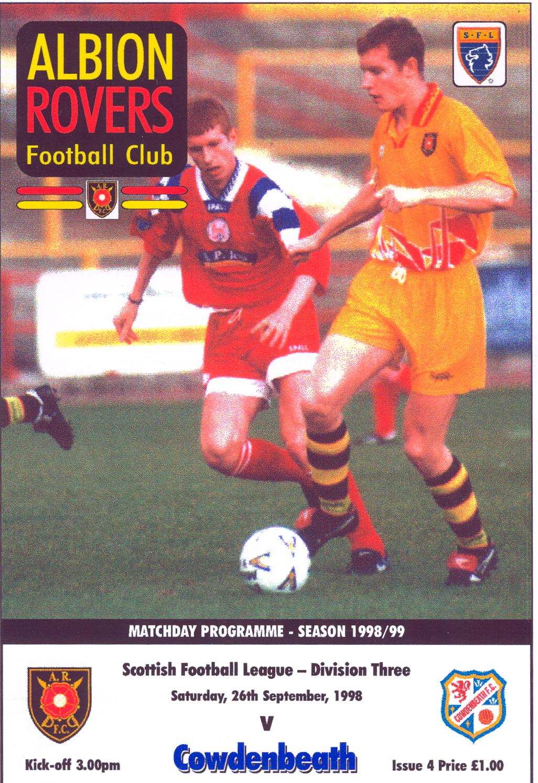 Albion Rovers Cowdenbeath Sofascore Sofa Upholstery Fabric Bangalore Caledonia Dreaming Or Ian38018 Football Travels