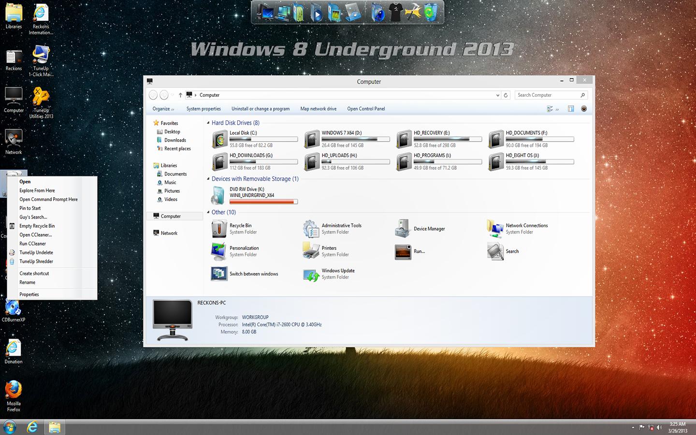 internet zone windows 8 underground edition 64 bit