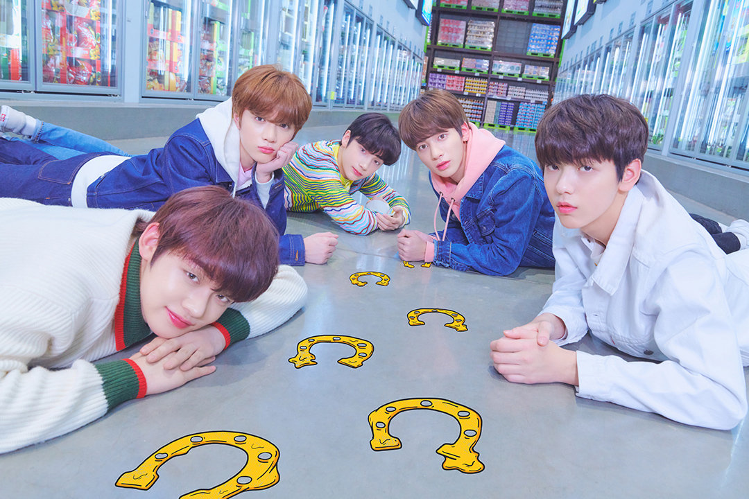 TXT Korean Boy Group