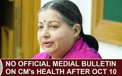 No Official Medical Bulletin from Apollo Hospital on Tamil Nadu CM's Health after Oct 10