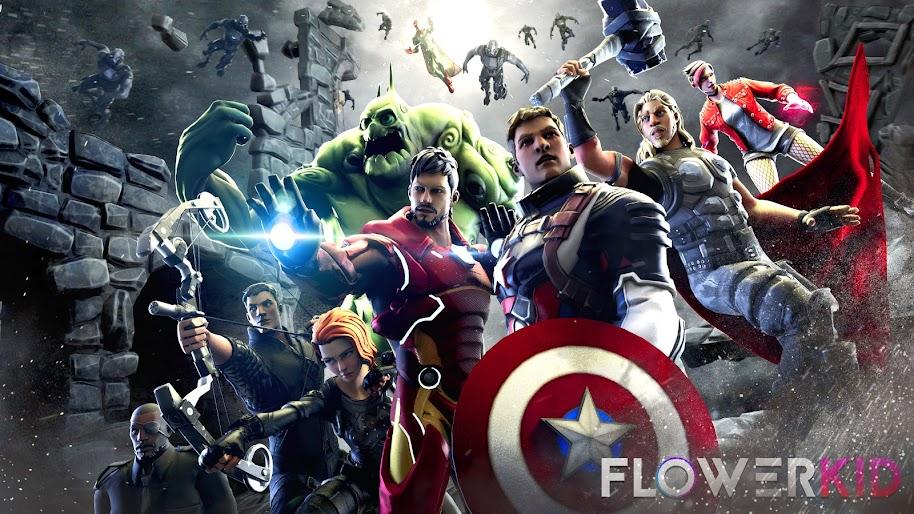 Fortnite Avengers 4K Wallpaper #182