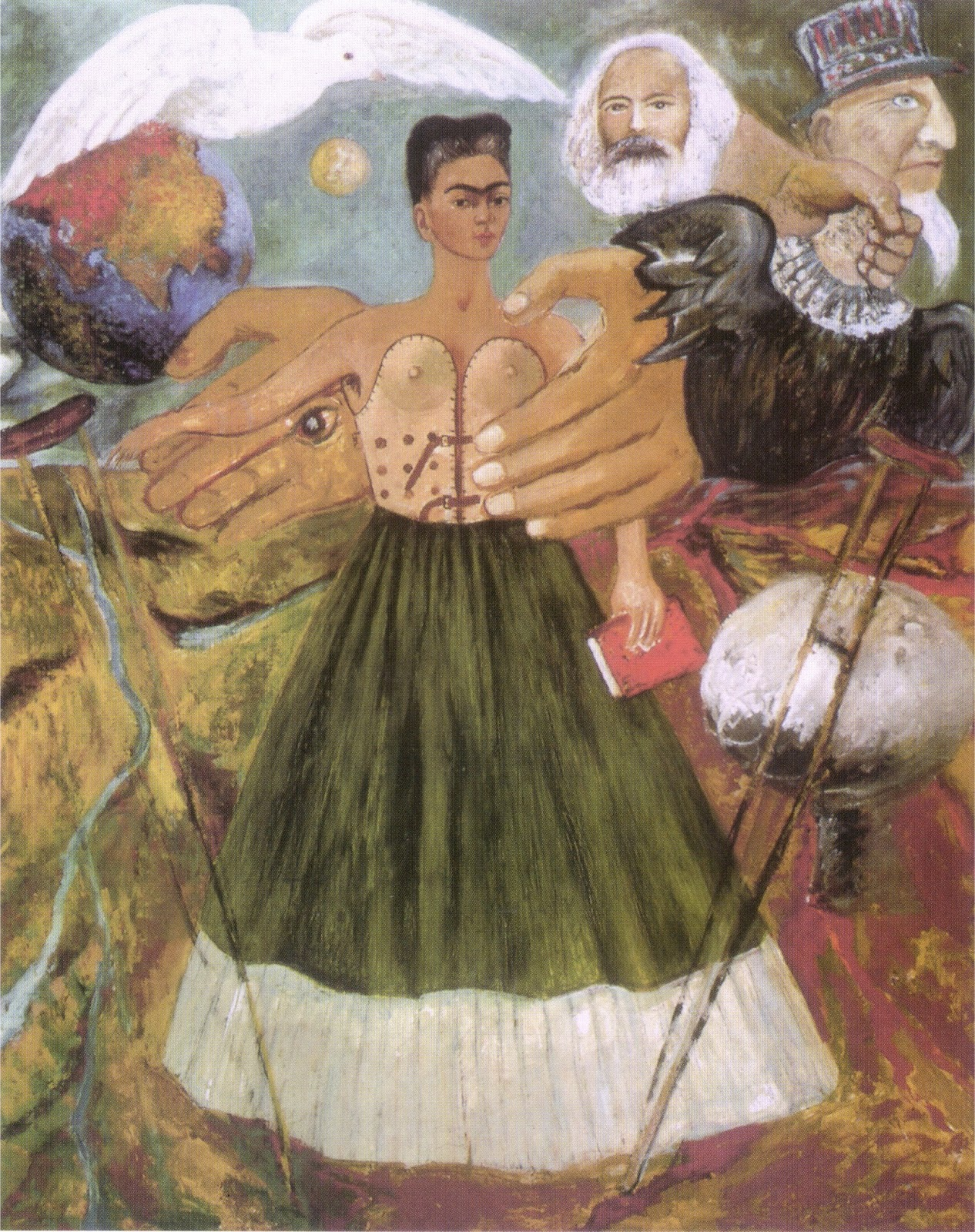 Frida Kahlo Pinturas Frida Kahlo I Paint Self Portraits Because I Am So Often
