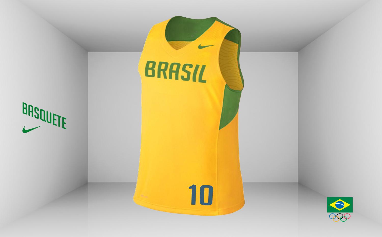 748b80b6333f7 Atletismo e Ginástica - Com um tom mais claro de verde e detalhes em  amarelo remetente a bandeira nacional