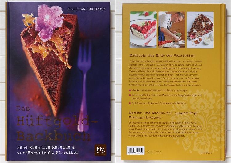 Buchvorstellung/Rezension Das Hüftgold-Backbuch von Florian Lechner