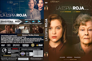 CARATULA LA ESPIA ROJA - RED ROAN - 2019 [COVER DVD]