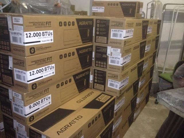 Secretaria de Saúde adquire 100 novos aparelhos de ar-condicionado