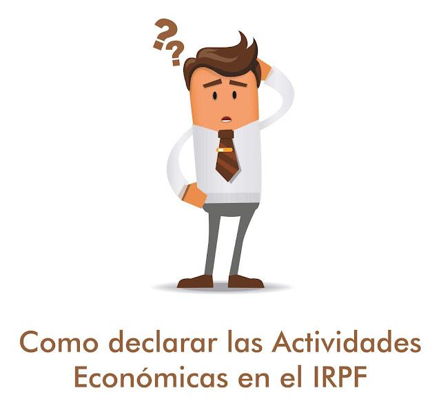 Actividades económicas IRPF